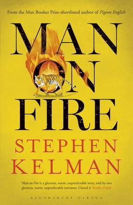 Man on Fire - signed first edition