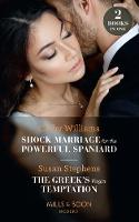 Click to view product details and reviews for Shock Marriage For The Powerful Spaniard The Greeks Virgin Temptation Shock Marriage For The Powerful Spaniard The Greeks Virgin Temptation Mills Boon Modern.
