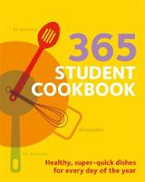 Click to view product details and reviews for 365 Student Cookbook.