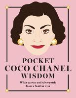 Click to view product details and reviews for Pocket Coco Chanel Wisdom Witty Quotes And Wise Words From A Fashion Icon.