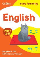 English Ages 3-5: Prepare for school...