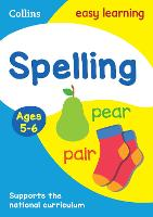 Spelling Ages 5-6: Prepare for school...