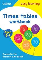 Times Tables Workbook Ages 5-7: Ideal...