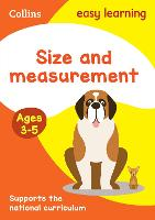 Size and Measurement Ages 3-5: ...