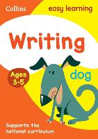 Writing Ages 3-5: Prepare for...