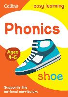Phonics Ages 3-5 (Collins Easy...
