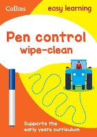 Pen Control Age 3-5 Wipe Clean...