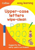 Upper Case Letters Age 3-5 Wipe Clean...