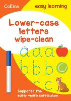 Lower Case Letters Age 3-5 Wipe Clean...