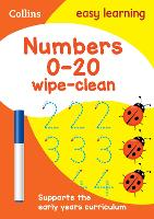 Numbers 0-20 Age 3-5 Wipe Clean...