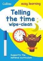 Telling the Time Wipe Clean Activity...