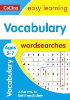 Vocabulary Word Searches Ages 5-7:...