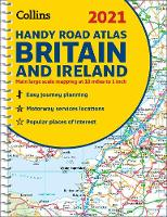 2021 Collins Handy Road Atlas Britain