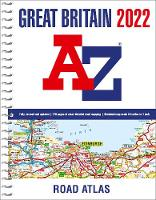Great Britain A-Z Road Atlas 2022 (A4...