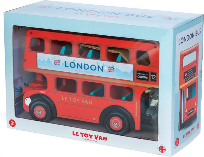 London Bus with Driver Set