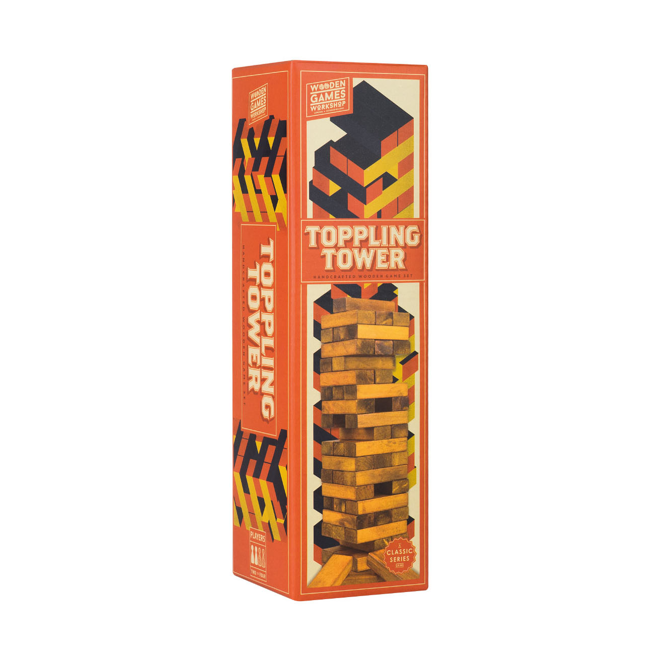 Wooden Games Toppling Tower