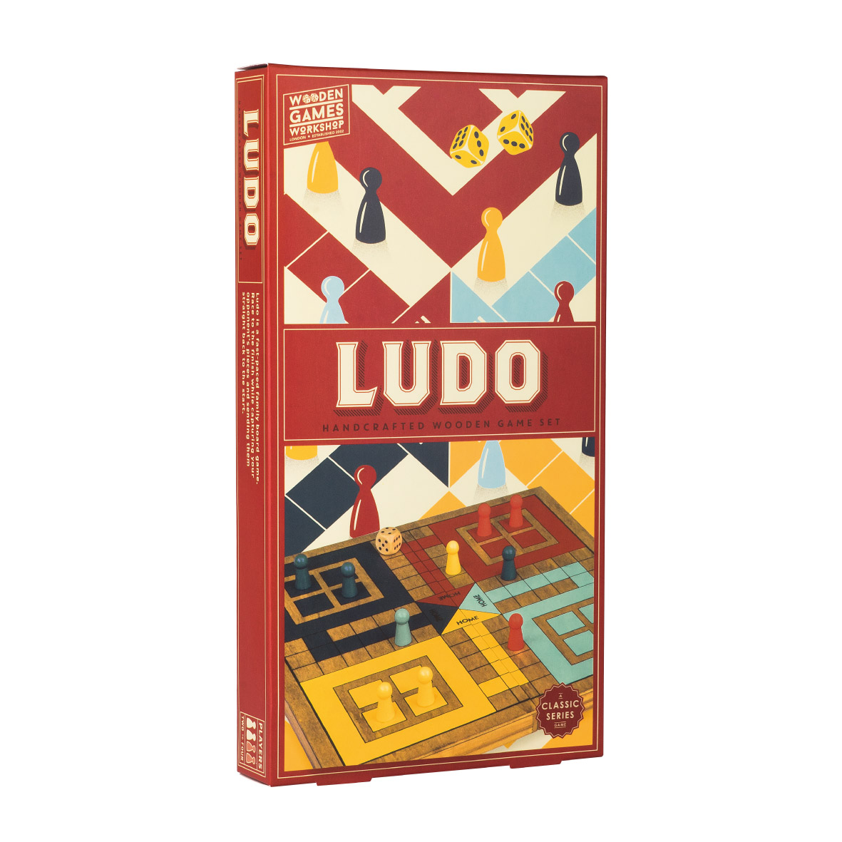 Wooden Games Ludo