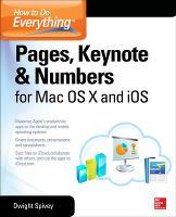 How to Do Everything: Pages, Keynote ...