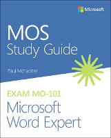 MOS Study Guide for Microsoft Word...