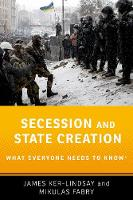 Secession and State Creation: What...