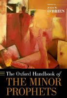 The Oxford Handbook of the Minor...