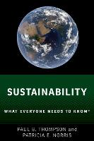 Sustainability What Everyone Needs to...