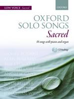 Oxford Solo Songs: Sacred Low Voice + Cd