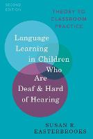 Language Learning in Children Who Are...