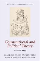 Constitutional and Political Theory:...