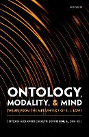 Ontology, Modality, and Mind: Themes...
