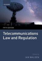 Telecommunications Law and Regulation