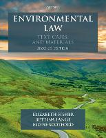 Environmental Law: Text, Cases &...