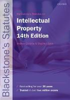 Blackstone's Statutes on Intellectual...