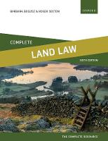 Complete Land Law: Text, Cases, and...
