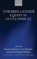 Towards Gender Equity in Development