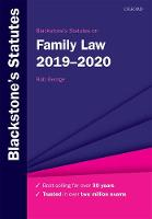 Blackstone's Statutes on Family Law...