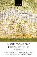 Institutions and Organizations: A...
