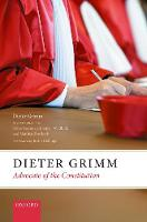 Dieter Grimm: Advocate of the...