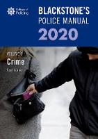 Blackstone's Police Manuals Volume 1:...