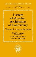 Letters of Anselm, Archbishop of...