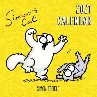 Simon's Cat Wall Calendar 2021