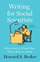 Writing for Social Scientists, Third...