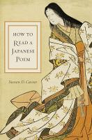 How to Read a Japanese Poem