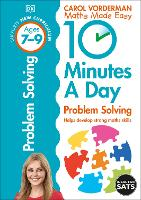 10 Minutes a Day Problem Solving Ages...