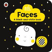Baby Touch: Faces: a black-and...