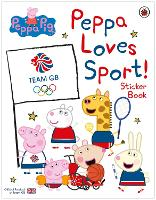 Peppa Pig: Peppa Loves Sport! Sticker...
