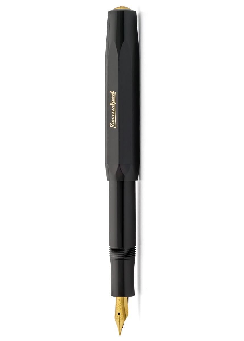 Black Kaweco Classic Fountain Pen -...