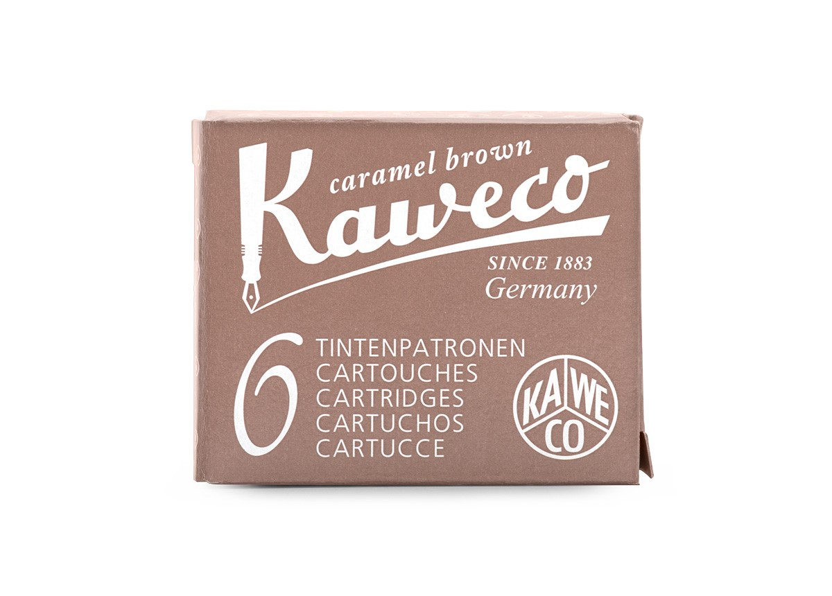 Caramel Brown Kaweco Ink (6 Cartridges)