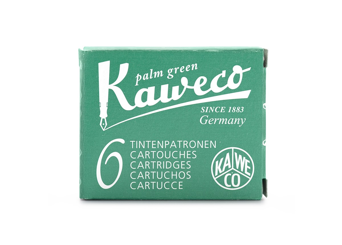Palm Green Kaweco Ink (6 Cartridges)
