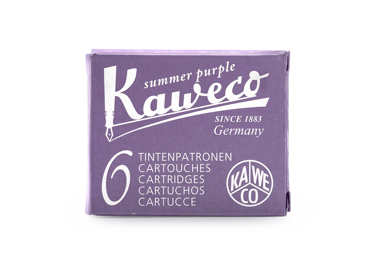 Summer Purple Kaweco Ink (6 Cartridges)